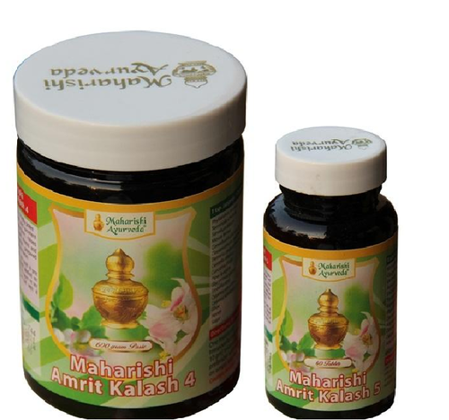 Maharishi Amrit Kalash 600g Nectar Paste & 60 Tabletten