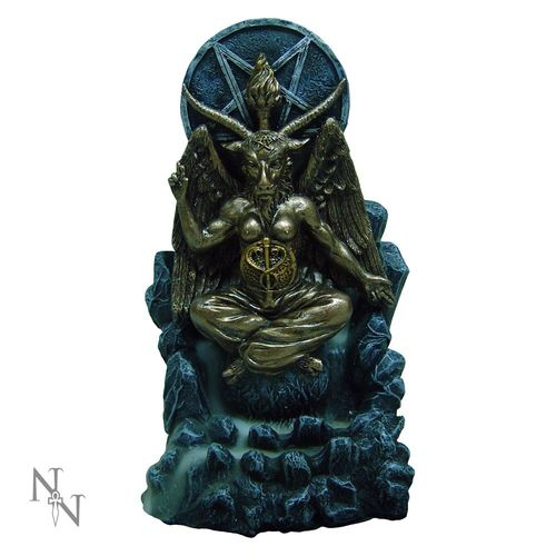 Baphomet Backflow Incense Burner 18cm